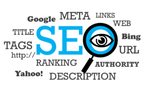 SEO, credit repair business listing, ranking, Yahoo!, Google, Tags, links
